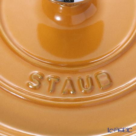 Staub (staub) Pico cocotte round 18cm/1.7L mustard