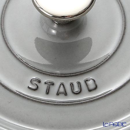 Staub ( staub  Pico cocotte round 18cm/1.7L gray