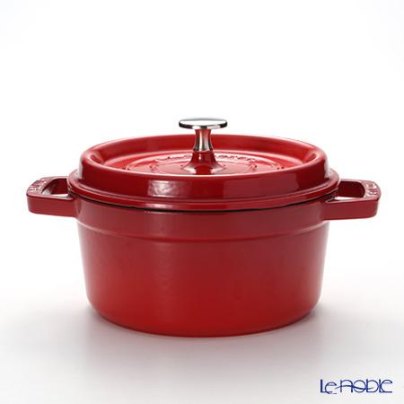 Staub (staub) Pico cocotte round 20cm/2.4L cherry red