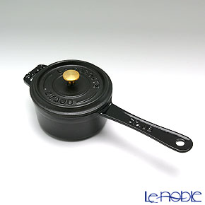 ストウブ(staub) スモールソースパン 10cm/0.25L ブラック