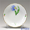 Herend 'Tulip Flower Blue / Kitty' KY-3 00704-1-00 Fruit Bowl 13.5cm