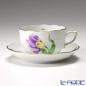 ヘレンド キティ KY-4(パープル) 00724-0-00/724 ティーカップ&ソーサー 200cc