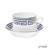 Ginori 1735 / Richard Ginori 'Labirinto - Zaffiro / Impero' Sapphire Blue Tea Cup & Saucer 220ml