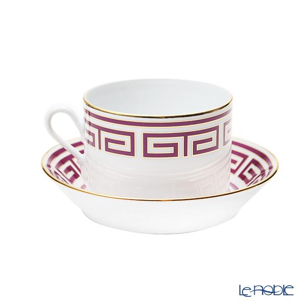 Ginori 1735 / Richard Ginori 'Labirinto - Ametista / Impero' Purple Tea Cup & Saucer 220ml