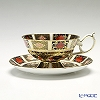 Royal Crown Derby Old Imari Japan 1128 Teacup and Saucer Elizabeth