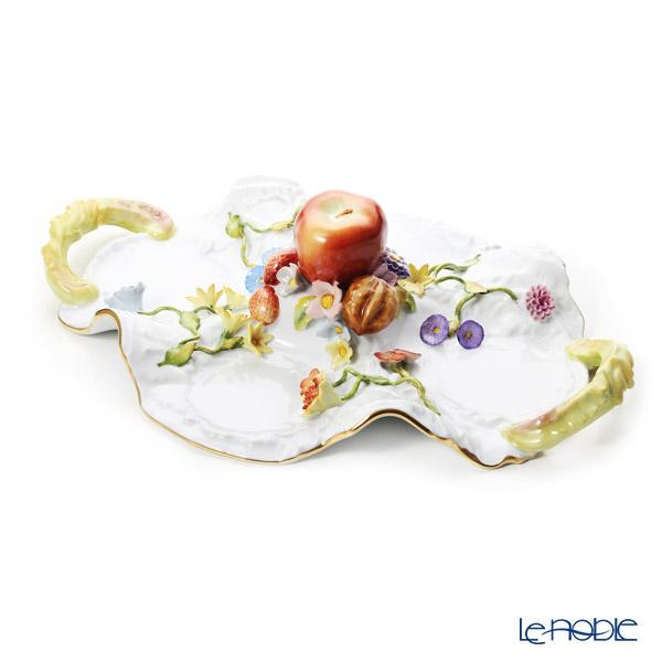 ヘレンド CD トレイ/ファンシーディッシュ 43cm 07537-0-66