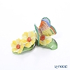 Herend CD 09316-0-00 Figurine 'Butterfly on Flowers'