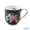 Herend 'Queen Victoria Black / Victoria Email' VE-FN 01739-0-00 Mug (M) 200ml