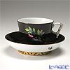 ヘレンド 黒いヴィクトリア VE-FN 03364-0-21ラージカップ&ソーサー