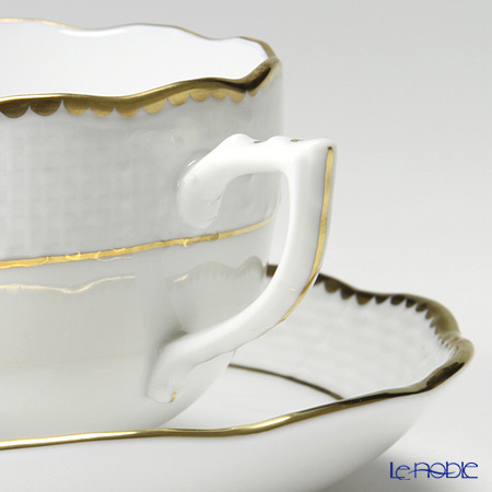 Herend Or ecailles Teacup with saucer 200 ml, ORE 00724-0-00