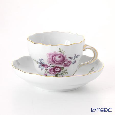 マイセン(Meissen) マイセンフラワー 150710/00582/30 コーヒーカップ&ソーサー 200cc マリーゴールド