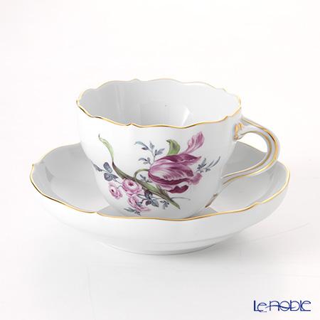 マイセン(Meissen) マイセンフラワー 150710/00582/33 コーヒーカップ&ソーサー 200cc チューリップ