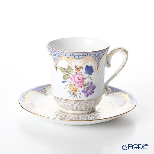 ヘレンド LILLY 04941-0-00 モカカップ&ソーサー