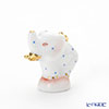 Herend 'Blue Dot' C-B 05292-0-47 Elephant Pendant Top H2.5cm
