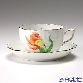 ヘレンド キティ KY-1(オレンジ) 00724-0-00/724 ティーカップ&ソーサー 200cc