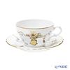 Ginori 1735 / Richard Ginori 'Charm' [Vecchio Ginori shape] Tea cup & Saucer 240ml