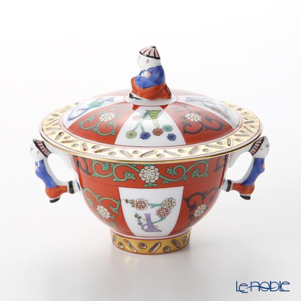 ヘレンド シノワズリ(中国趣味) ゲデレ G 03355-0-21 シュガーポット(マンダリン) 0.1L