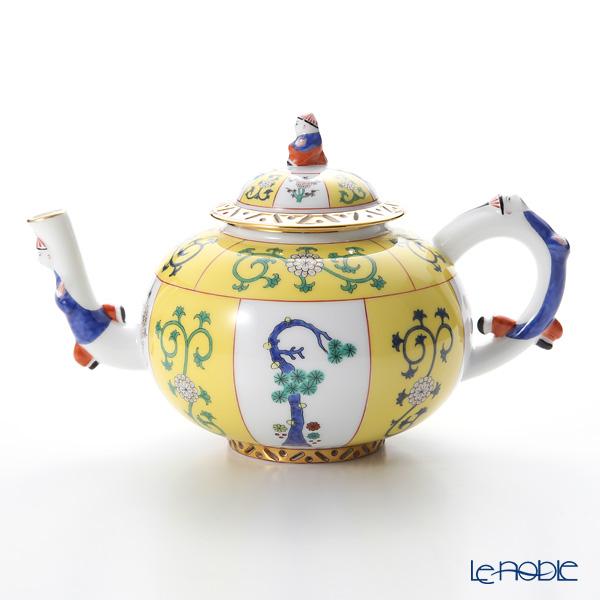 ヘレンド シノワズリ(中国趣味)西安の黄 SJ 03304-0-21 ティーポット L 700cc
