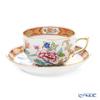 Herend 'Shanghai (Peony)' SH 20724-0-00 Tea Cup & Saucer 200ml