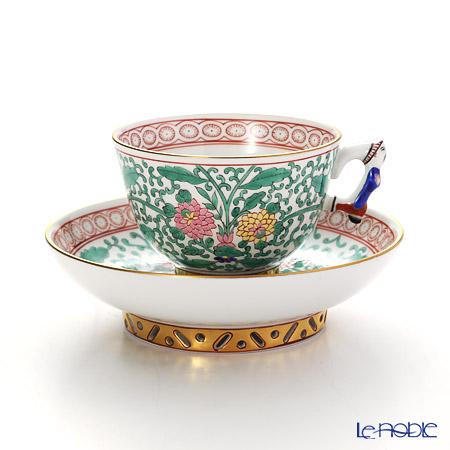 ヘレンド シノワズリ(中国趣味) トゥッピーニの薔薇 03371-0-00スモールカップ&ソーサー