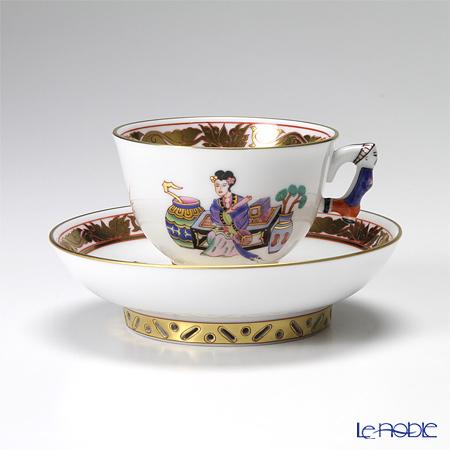 ヘレンド 明の宮女 MG 03371-0-21 スモールカップ&ソーサー