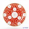 Herend 'Chrysanthemum' Red CHRY 02518-0-00 Plate 18.3cm