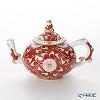Herend 'Chrysanthemum' Red CHRY 03305-0-21 Mini Tea Pot (Mandarin / openwork) 350ml