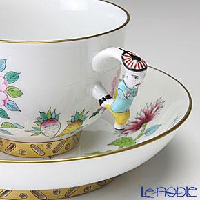 ヘレンド シノワズリ (中国趣味) SP225 03364-0-21マンダリン ラージカップ&ソーサー