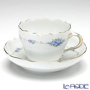 マイセン(Meissen) フラワーガーランド(忘れな草) 229210/00582 コーヒーカップ&ソーサー 200cc