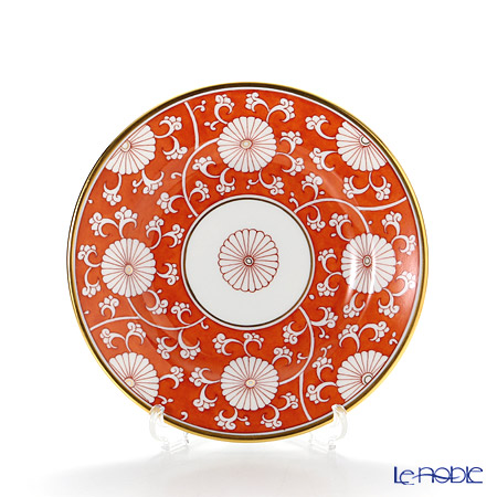 ヘレンド 赤地菊 CHRY 02512-0-00 プレート 12.5cm