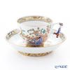 Herend Zhejiang KG 03364-0-21 Tea Cup & Saucer (Mandarin handle / openwork) 200ml