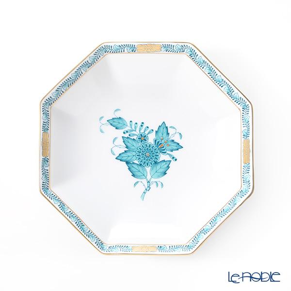 ヘレンド アポニーターコイズ 04304-1-00 小皿(オクタゴナル) 13.5cm