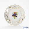 Meissen 'Fruit Pattern' Grape 240212/54802 Plate (openwork) 21cm