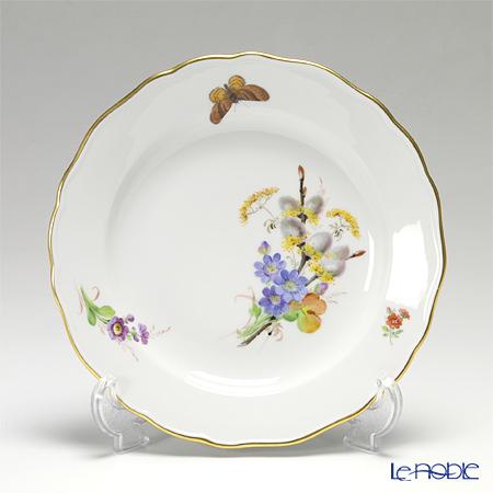 マイセン(Meissen) 花と蝶 250210/00472/Cプレート 20cm