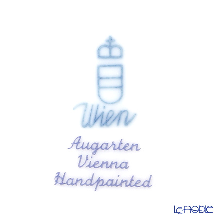 アウガルテン(AUGARTEN) ウィンナーフラワー(5089B) チューリップティーカップ&ソーサー(S) 0.2L(001)