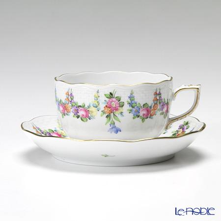 ヘレンド リヒテンシュタインブーケ LTBS 00724-0-00/724 ティーカップ&ソーサー 200cc
