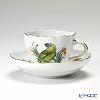 マイセン(Meissen) ビンテージバード 26c056/00582コーヒーカップ&ソーサー 200cc アオボウシインコ
