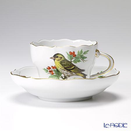 マイセン(Meissen) 鳥と虫 260110/00582 コーヒーカップ&ソーサー 200cc ヒワ