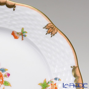 ヘレンド ヴィクトリア・アニバーサリー AVBO 00517-0-00プレート 19cm