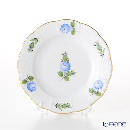 ヘレンド プティットローズ ブルー PRB 00512-0-00 プレート 12.5cm