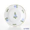 Herend Petite Rose Blue PRB 00512-0-00 Plate 12.5 cm
