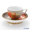 Herend 'FUG' 03364-0-21 Tea Cup & Saucer (Mandarin handle / openwork) 200ml