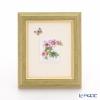 ヘレンド MID-5 08193-0-00陶板(花と蝶) 4.5×3.5cm