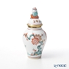 Herend 'Style Kakiemon' SKA 06574-0-21 Covered Mini Vase (Mandarin) H10cm