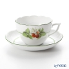 Herend 'Berried Fruits / Bacci Fere' Raspberry BAC-2 00730-0-00 Tea / Coffee Cup (combined) & Saucer 200ml
