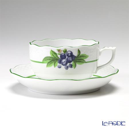 ヘレンド ベリーアラカルト BAC-6(ビルベリー) 00724-0-00 ティーカップ&ソーサー 200cc