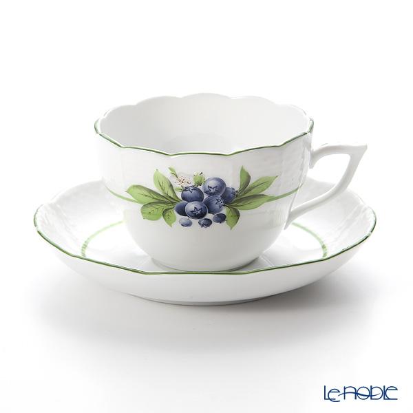 ヘレンド ベリーアラカルト BAC-6(ビルベリー)00730-0-00 ティーカップ&ソーサー(兼用) 200cc