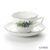 Herend 'Berried Fruits - Bilberry / Bacci Fere' BAC-6 00730-0-00 Tea / Coffee Cup (combined) & Saucer 200ml