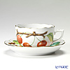 Herend 'Fruits - Cherry' FTH-CR 20724-0-00 Tea Cup & Saucer 200ml