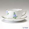 Herend 'Small Roses Blue / Petites Roses' PRB 00724-0-00 Tea Cup & Saucer 200ml